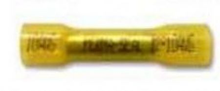 Adhesive Lined Butt Splice Yellow