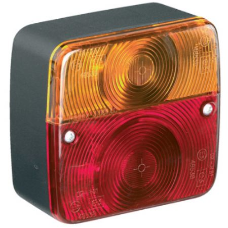 4 Function Trailer Lamp Square