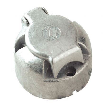 Trailer Socket 7 Pin Metal 12S