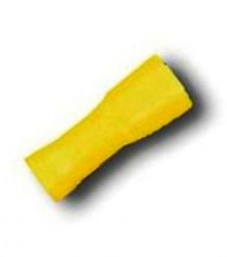 Yellow Female Fully Insulated 6.6mm