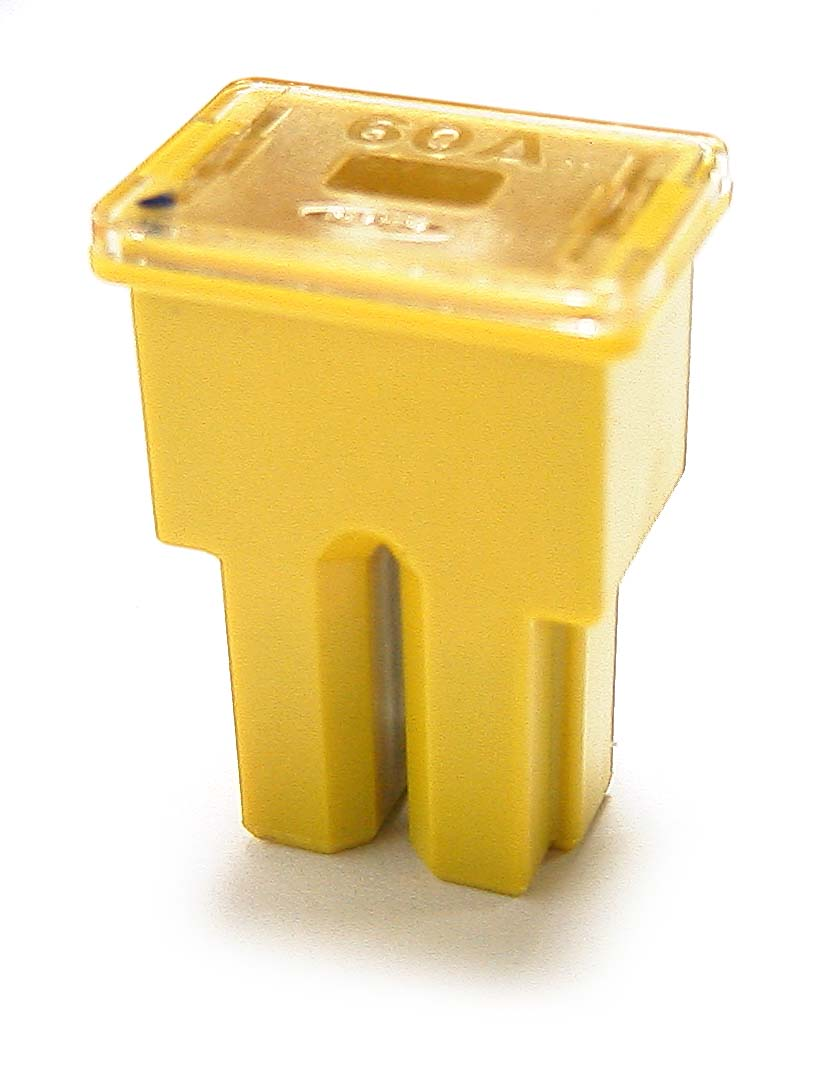 PAL Fuse 60A Yellow (Female Connector)