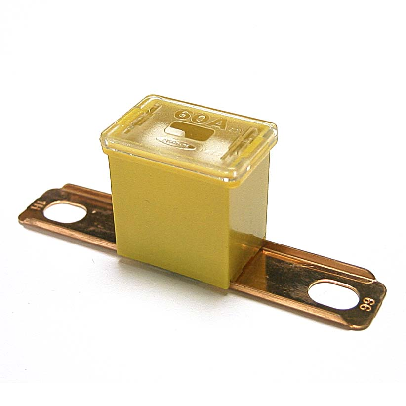 PAL Fuse 60A Yellow (62mm)
